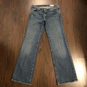 Gap jeans essential denim stretch wide leg size 10